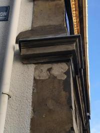 réparation d'une pierre d'angle